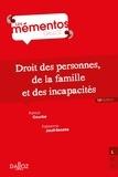 Patrick Courbe et Fabienne Jault-Seseke - Droit des personnes, de la famille et des incapacités.