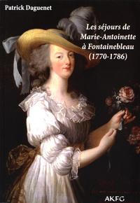 Histoiresdenlire.be Les séjours de Marie-Antoinette à Fontainebleau (1770-1786) Image