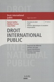 Patrick Daillier et Alain Pellet - Droit international public.