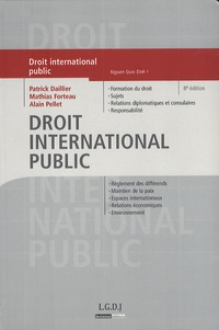Patrick Daillier et Alain Pellet - Droit international public.