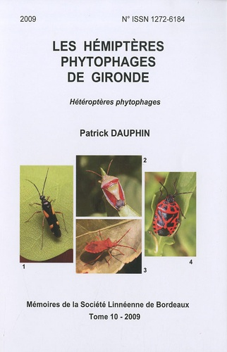 Patrick Dauphin - Les hémiptères phytophages de Gironde - Hétéroptères phytophages.