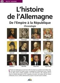 Patrick Del Duca - L'histoire de l'Allemagne - De L'Empire à la République : Chronologie.