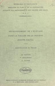 Patrick Deslandes et Georges Tacher - Développement de l'élevage dans la vallée de la Nouhao, Haute-Volta - Identification du projet.