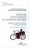 Patrick Devlieger et Léon Mbadu-Khonde - Handicap et technologie en contextes africains.