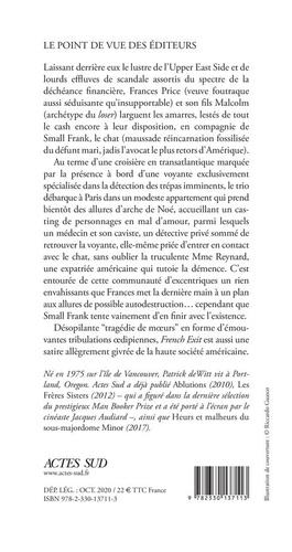 French Exit. Une tragédie de moeurs