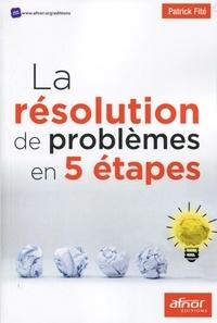 Galabria.be La résolution de problèmes en 5 étapes Image