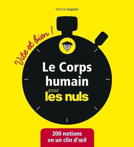 Le corps humain pour les Nuls - Patrick Gepner - Format ePub - 9782412047323 - 7,99 €