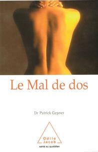 Patrick Gepner - Le mal de dos.