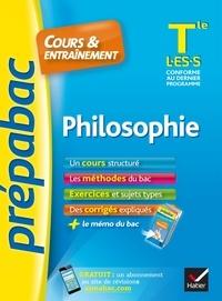 Patrick Ghrenassia et Pierre Kahn - Philosophie Tle L, ES, S - Prépabac Cours & entraînement - cours, méthodes et exercices de type bac (terminale).