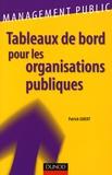 Patrick Gibert - Tableaux de bord pour les organisations publiques.