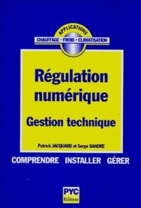 Patrick Jacquard - Régulation numérique - Gestion technique.