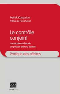 Le contrôle conjoint - Contribution à létude du pouvoir dans la société.pdf