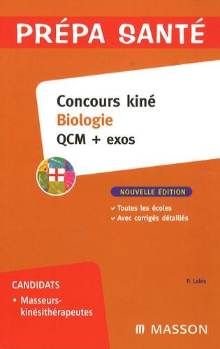 Patrick Labis - Concours kiné Biologie - QCM + exos.