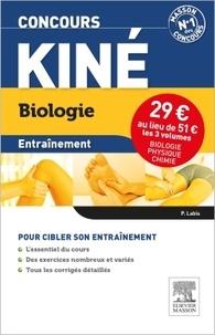 Patrick Labis et Christine Lopez-Rios - Concours kiné Entrainement - Pack 3 volumes : Biologie, physique, chimie.