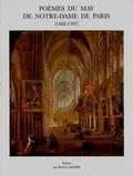 Patrick Laharie - Poèmes du May de Notre-Dame de Paris (1492-1707).