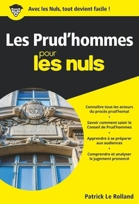 Les prud'hommes pour les nuls - Patrick Le Rolland pdf epub