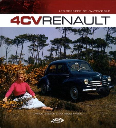 Patrick Lesueur et Dominique Pascal - 4 CV Renault.