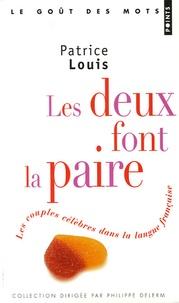 Les deux font la paire - Les couples célèbres dans la langue française.pdf