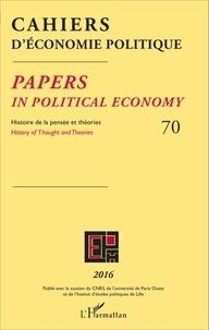 Patrick Mardellat - Cahiers d'économie politique N° 70/2016 : .