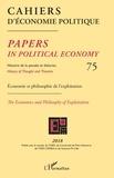 Patrick Mardellat - Cahiers d'économie politique N° 75/2018 : Economie et philosophie de l'exploitation.