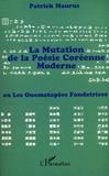 Patrick Maurus - La mutation de la poésie coréenne moderne - Ou Les onomatopées fondatrices.