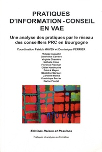 Epub ebook forum de téléchargement Pratiques d'information-conseil en VAE  - Une analyse des pratiques par le réseau des conseillers PCR en Bourgogne