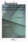 Patrick Mayen et Catherine Mayeux - Savoirs N° 1/2003 : L'expérience.