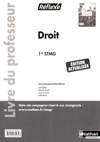 Patrick Mercati - Droit 1re STMG - Livre du professeur.