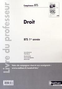 Satt2018.fr Droit BTS 1re année - Livre du professeur Image