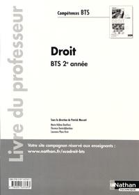Patrick Mercati - Droit BTS 2e année - Livre du professeur.