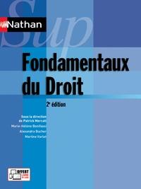 Patrick Mercati et Marie-Hélène Bonifassi - Fondamentaux du droit.