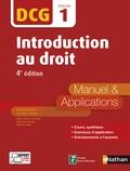 Patrick Mercati - Introduction au droit DCG 1 - Manuel & Applications.