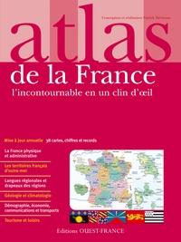 Deedr.fr Atlas de la France - L'incontournable en un clin d'oeil Image