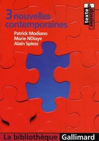 Patrick Modiano et Marie NDiaye - 3 nouvelles contemporaines.