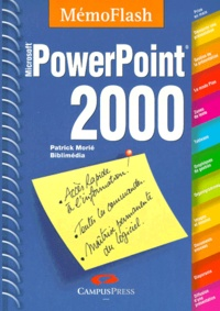 Patrick Morié - PowerPoint 2000 - Microsoft.
