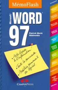 Patrick Morié - Word 97 - Mémento, Microsoft.