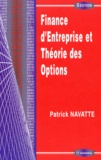 Patrick Navatte - Finance d'entreprise et théorie des options.