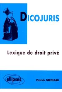 DICOJURIS. Lexique de droit privé.pdf
