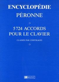 Patrick Péronne - Encyclopédie Péronne - 5724 Accords pour le clavier classés par chiffrage.