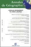 Patrick Pigeon et  Collectif - Annales de Géographie N° 627-628 Septembre-Décembre 2002 : Approches géographiques des risques naturels.