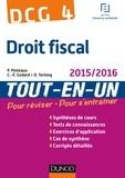 Patrick Pinteaux et Charles-Édouard Godard - DCG 4 - Droit fiscal 2015/2016 - 9e éd - Tout-en-Un.