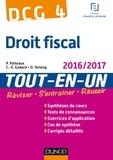 Patrick Pinteaux et Charles-Édouard Godard - DCG 4 - Droit fiscal 2016/2017 - 10e éd - Tout-en-Un.