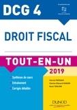 Patrick Pinteaux et Charles-Édouard Godard - DCG 4 - Droit fiscal - Tout-en-Un - 2019.