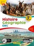 Patrick Pique - Histoire Géographie Enseignement moral et civique 2de Bac Pro.
