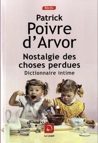 Deedr.fr Nostalgie des choses perdues - Dictionnaire intime Image