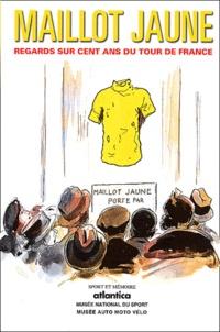 Patrick Porte et Dominique Vila - Maillot jaune - Regards sur cent ans du Tour de France.