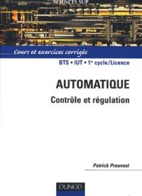 Automatique - Contrôle et régulation - Cours et exercices corrigés.pdf