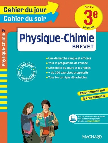 Physique-Chimie Brevet 3e Cycle 4. 14-15 ans  Edition 2016