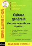 Patrick Refalo et Rémi Remondière - Culture générale - Concours paramédicaux et sociaux.