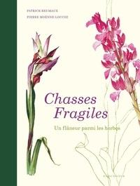 Patrick Reumaux et Pierre Moënne-Loccoz - Chasses fragiles - Un flâneur parmi les herbes.